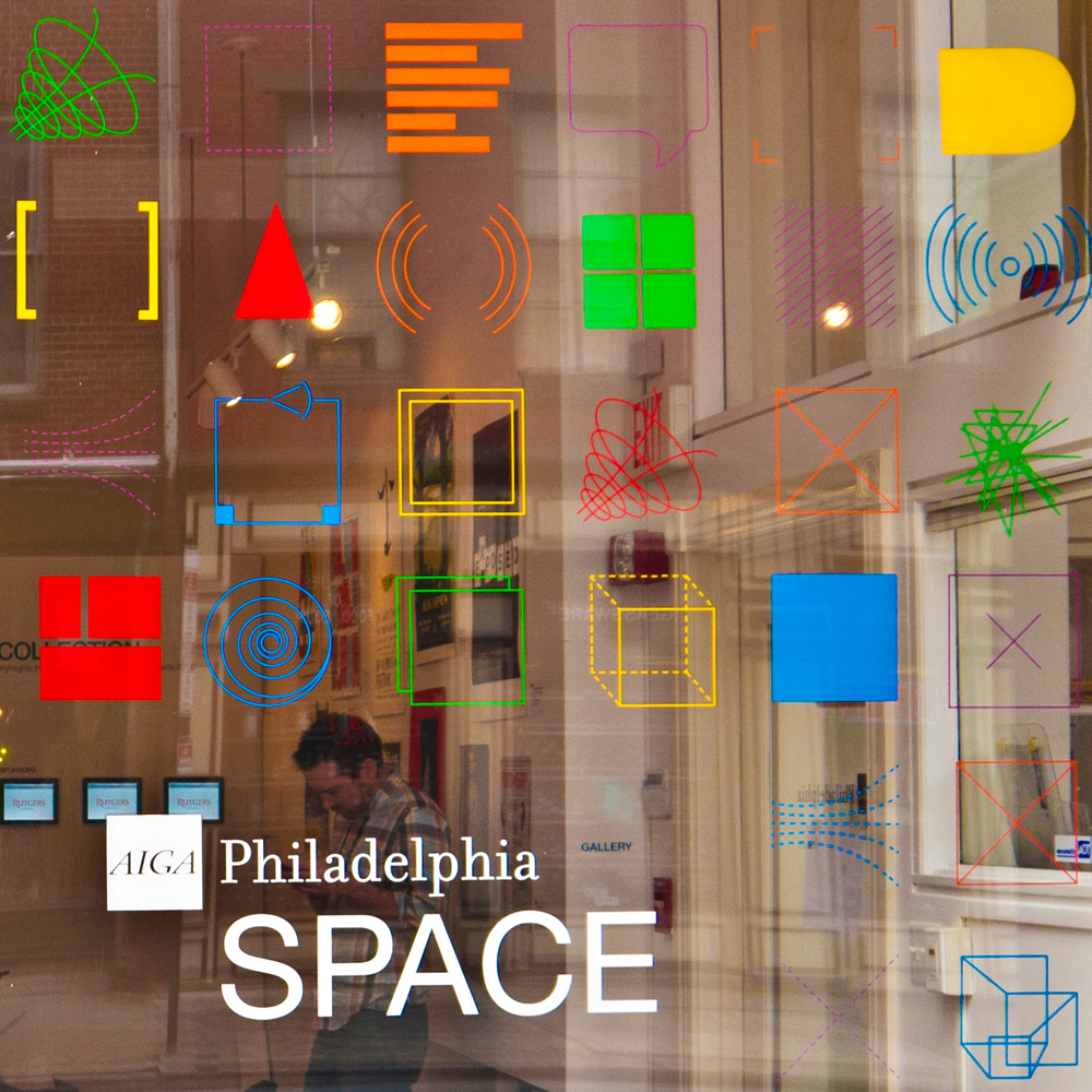 AIGA Philadelphia SPACE - variousways - jon montenegro