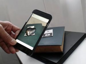 augmented reality business card by jon montenegro